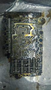 Гидроблок изнутри, когда его разделить на две части